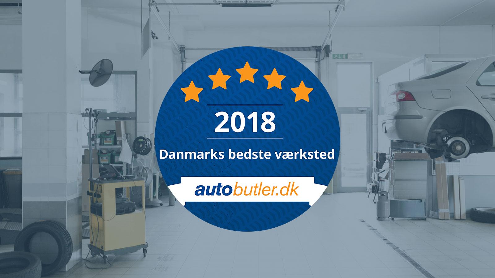 Ubrugte Danmarks bedste værksted 2018 RL-52