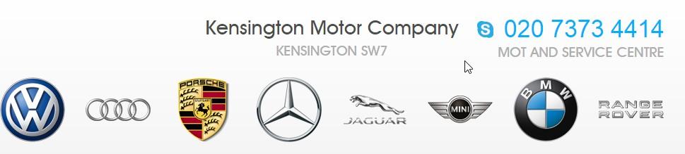 Kensington Motor Company logo