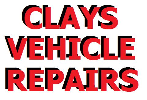 Clays Vehicle Repairs logo