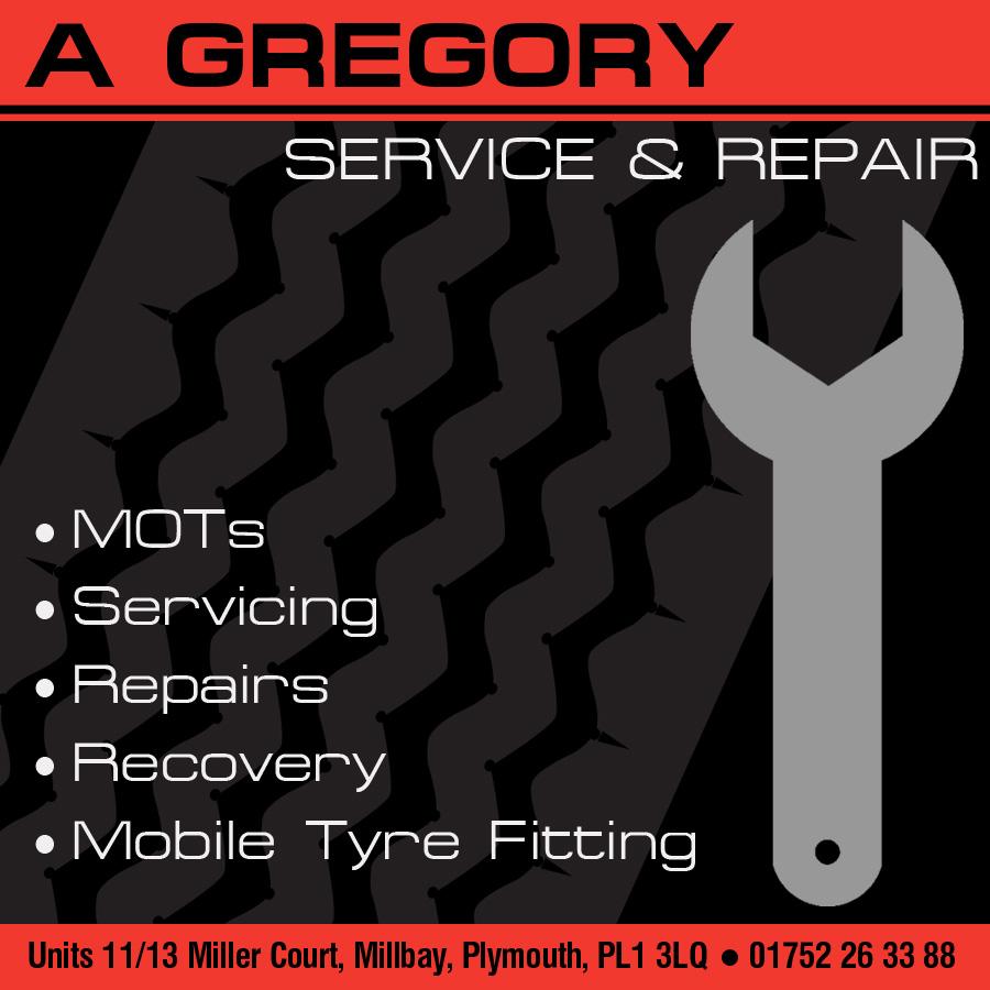 A Gregory Service & Repair logo