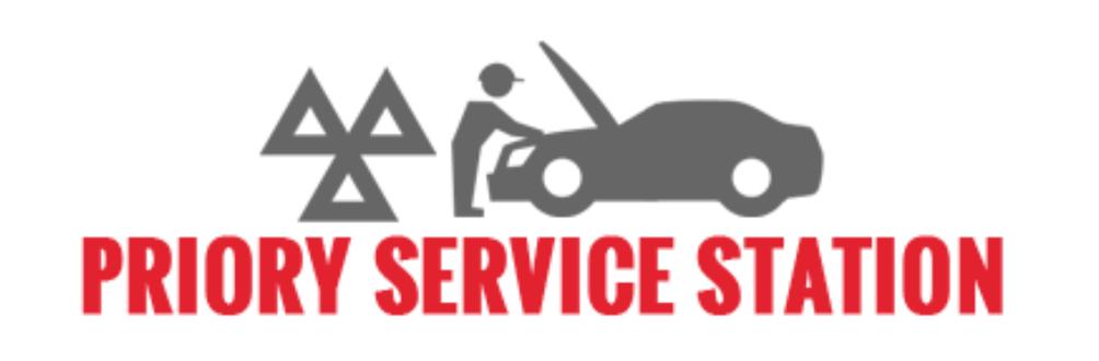 Priory Service Station - Euro Repar logo