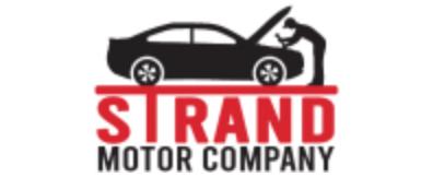 Strand Motor Company logo