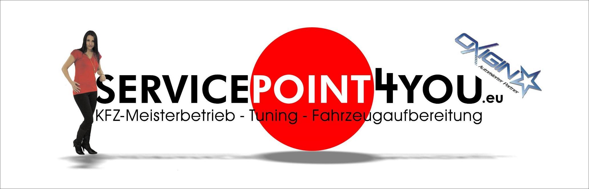 Service Point 4 You logo