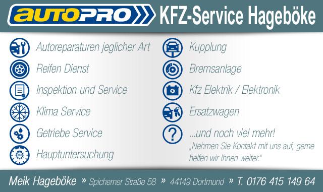 KFZ Service Hageböke logo
