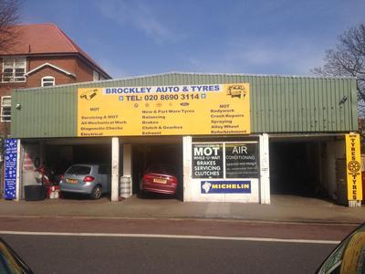 Brockley Auto & Tyres logo