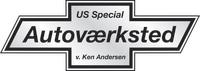 US Special Autoværksted logo