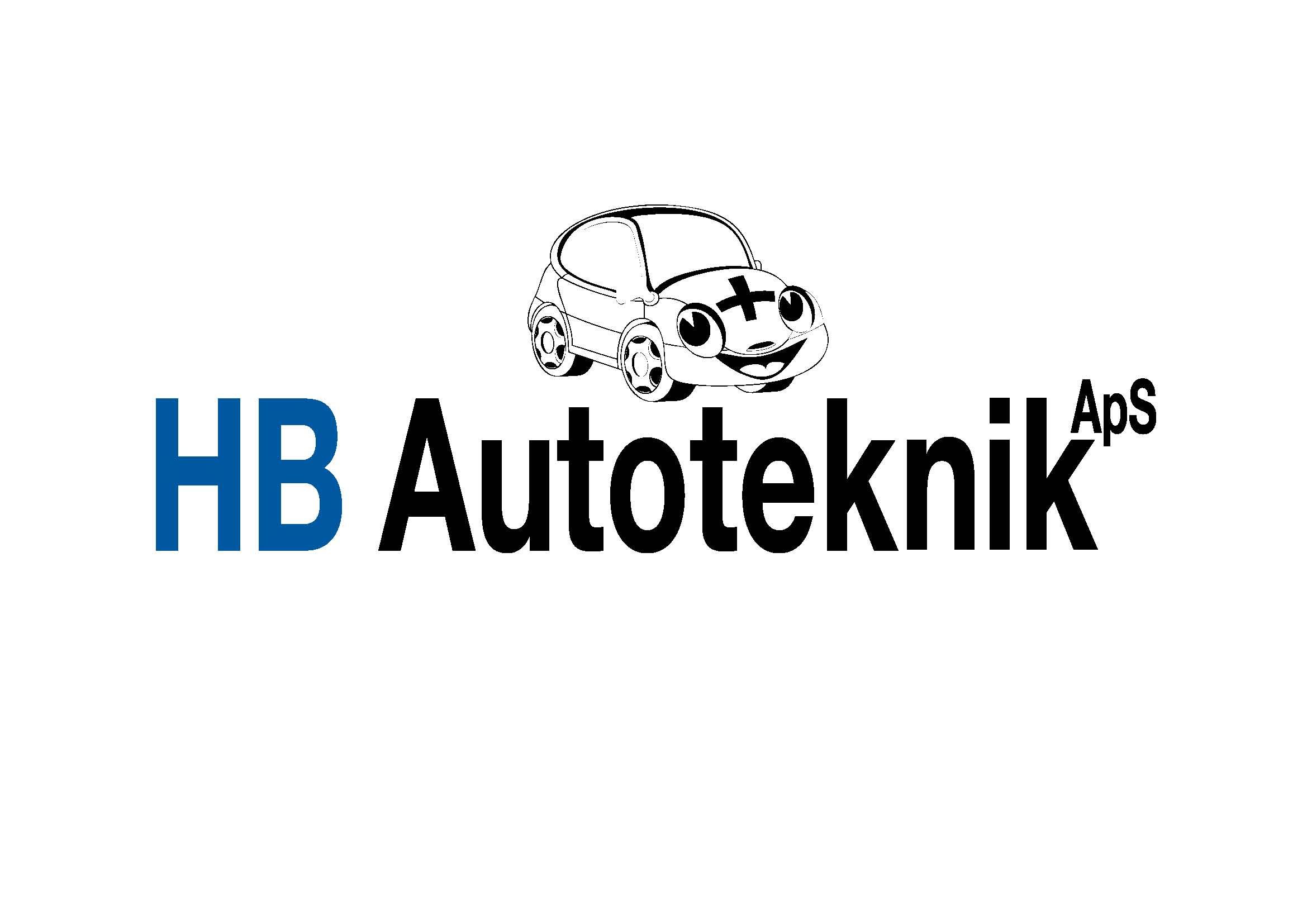HB Autoværksted og bilsalg logo