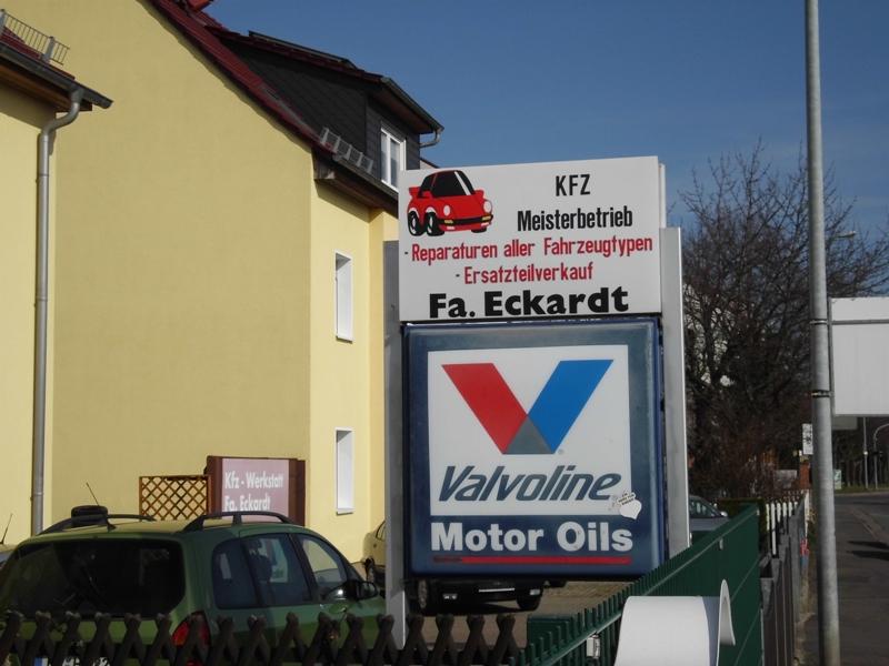 Firma Eckardt Gebrauchtwagen und Zubehör Werkstattservice logo