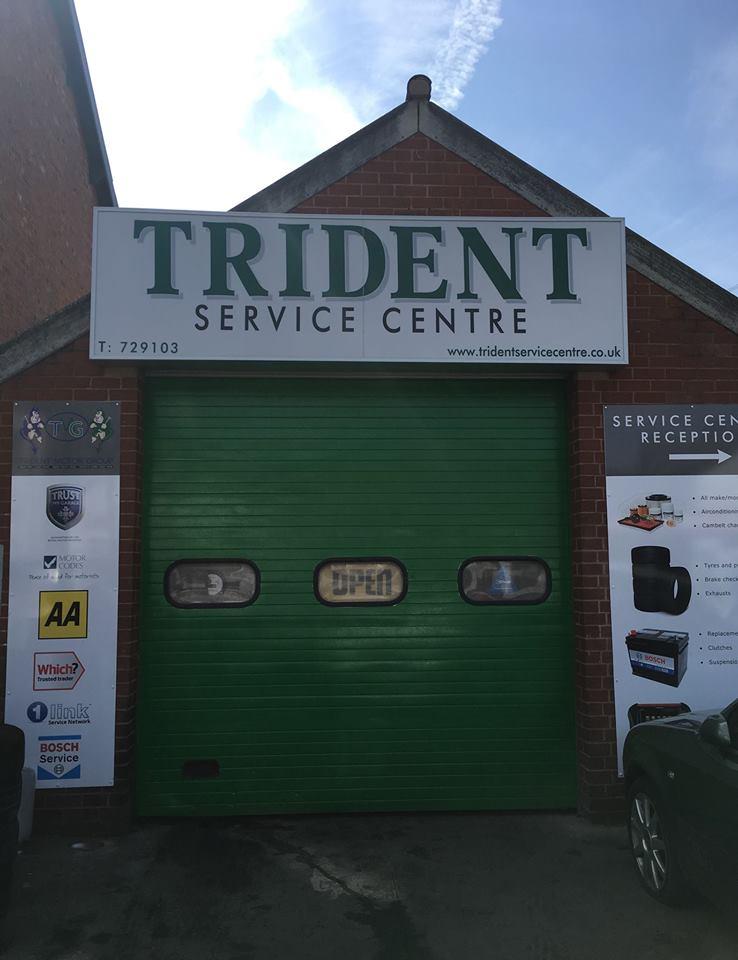 Trident Service Centre logo