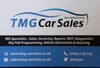 TMG Car Sales logo