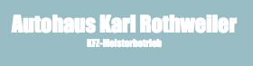 Autohaus Karl Rothweiler logo
