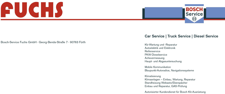 Bosch Service Fuchs GmbH logo