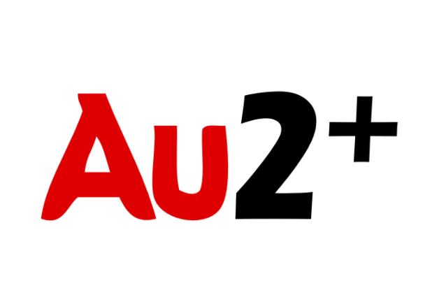 AU2+ ApS logo
