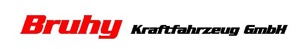 Bruhy Kraftfahrzeug GmbH logo
