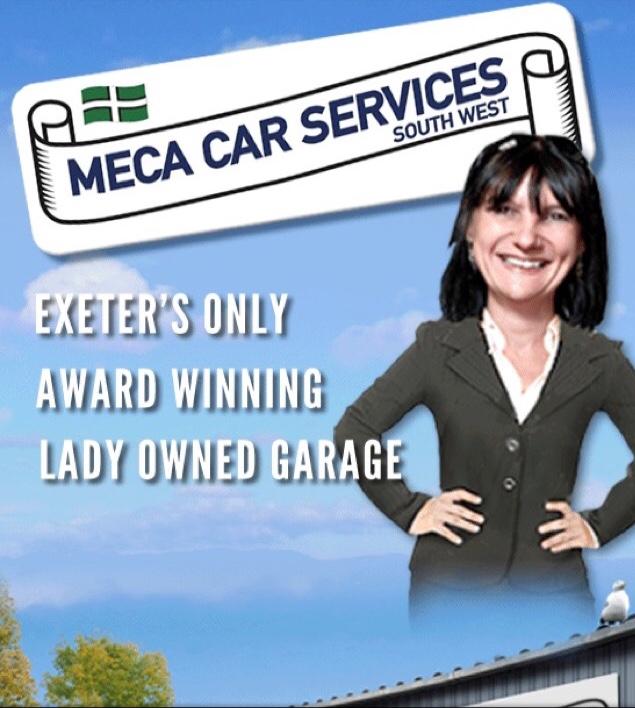 MECA Car services (Exeter) logo