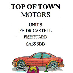 Top of Town Motors - Euro Repar logo