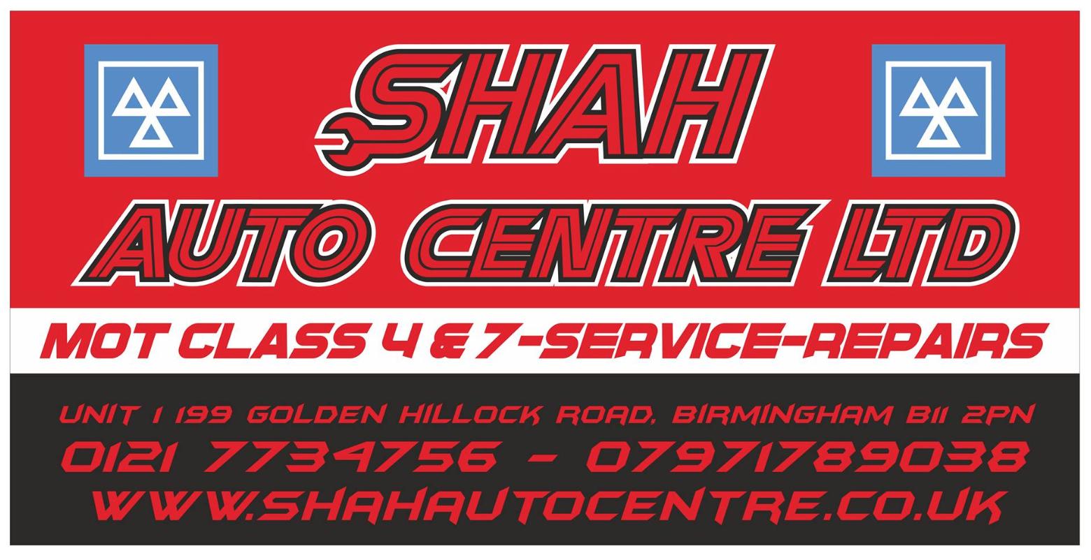 Shah Auto Centre logo