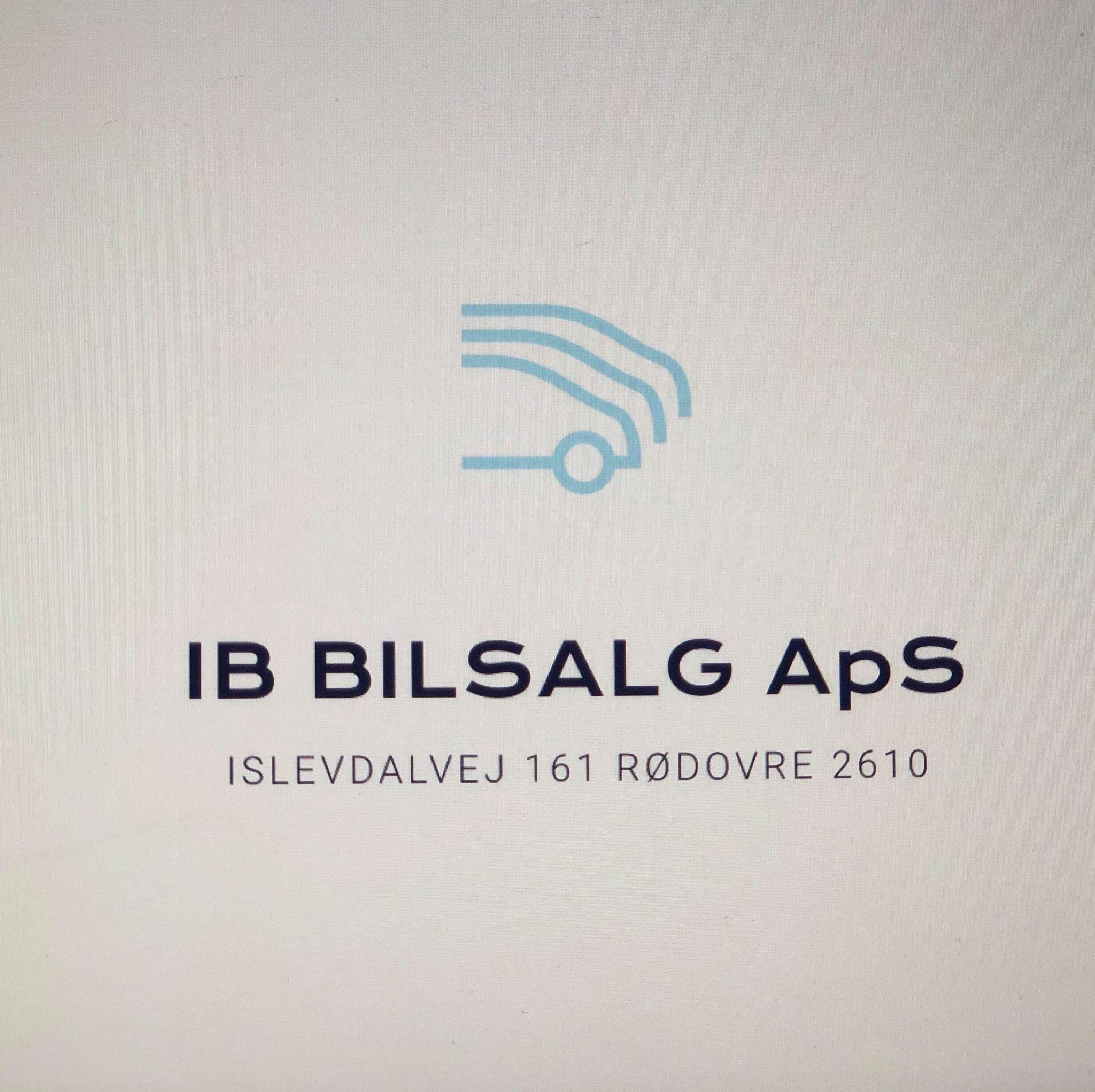 IB Bilsalg ApS logo