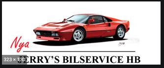 Jerrys Bilservice HB logo