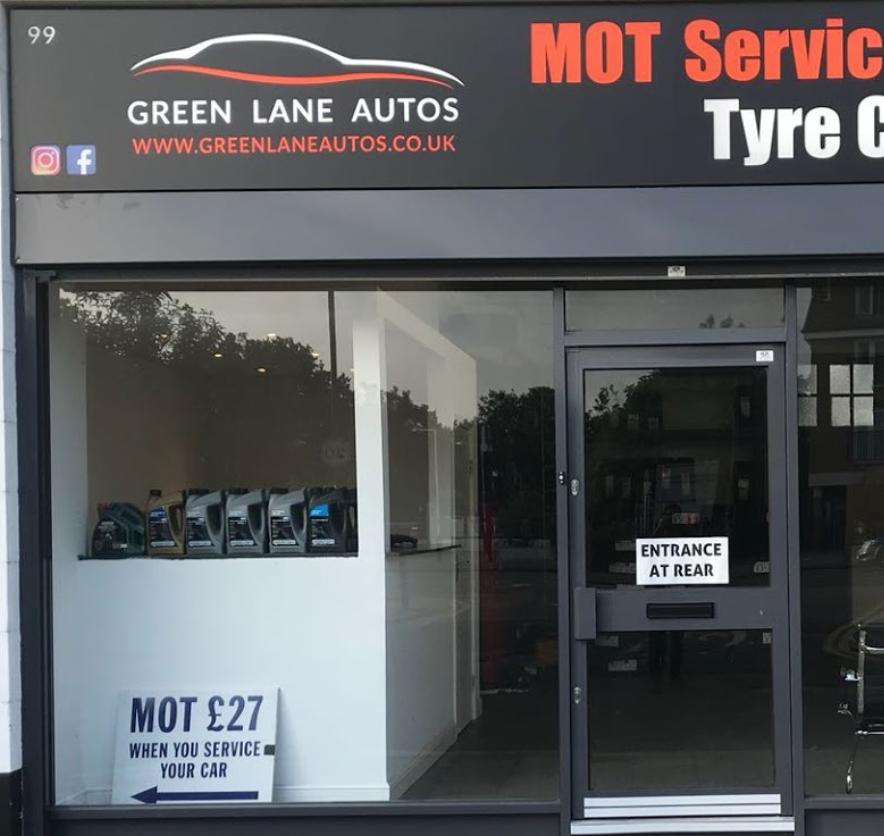 Green Lane Autos & Tyre Centre logo