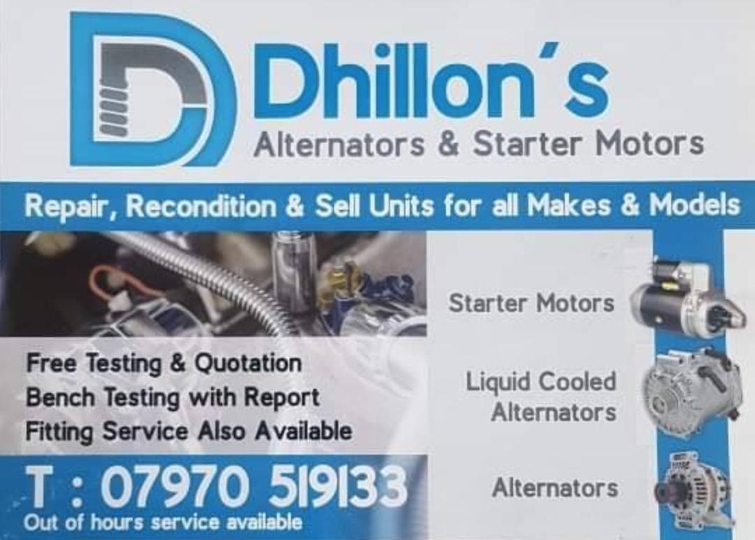 Dhillon's (Mobile Mechanic) logo