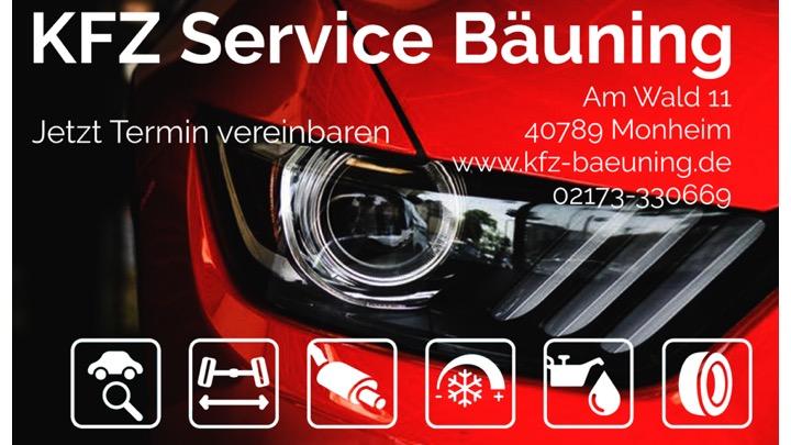 KFZ Service Bäuning logo