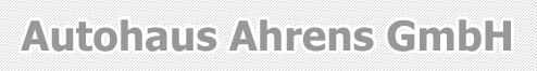 Autohaus Ahrens GmbH logo