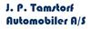 J. P. Tamstorf Automobiler A/S logo
