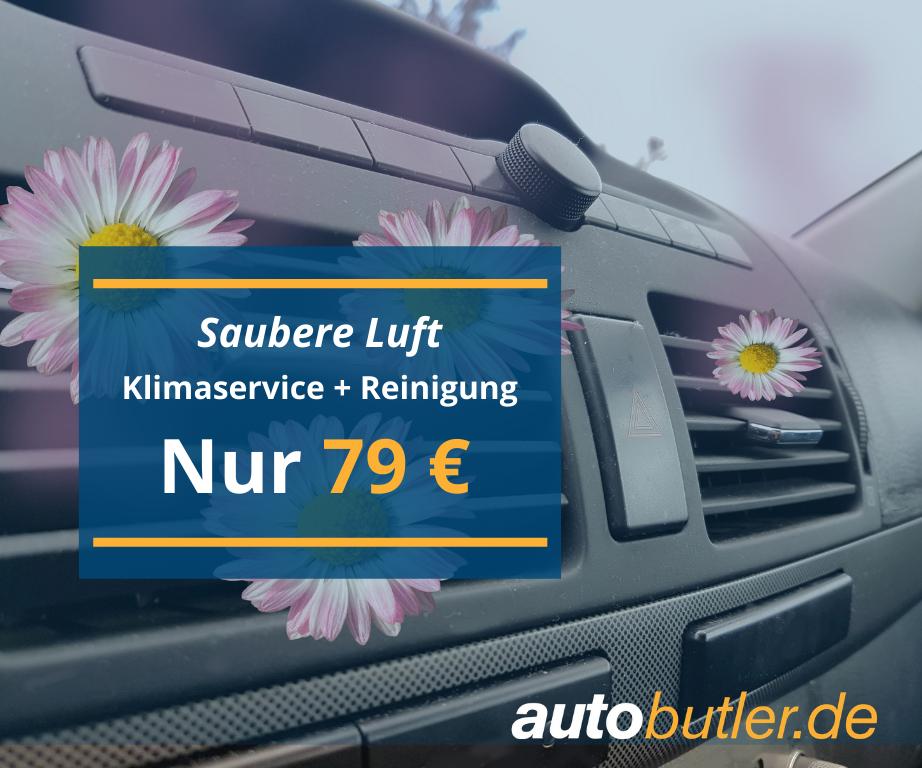 Klimaservice + Reinigung - NUR 79€