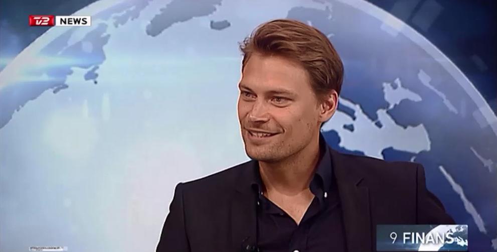 Peter Michael Oxholm Zigler i TV2 Finans om Index Ventures investering af 43 mio kr i Autobutler